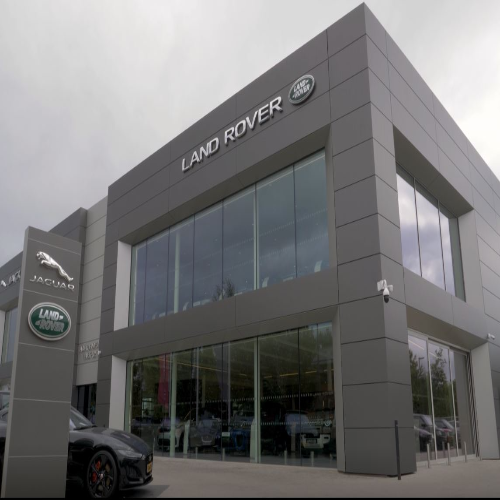 Nieuwbouw Jaguar Land Rover Maastricht